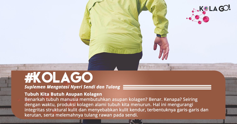 Manfaat kolagen bagi tubuh