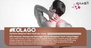 25% Penderita Osteoporosis Meninggal Setelah Mengalami Patah Tulang Pinggul